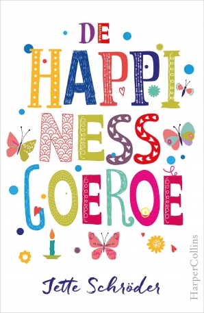 De Happiness-goeroe Hardcover  door Jette Schröder