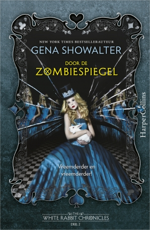 Door de zombiespiegel Paperback  door Gena Showalter