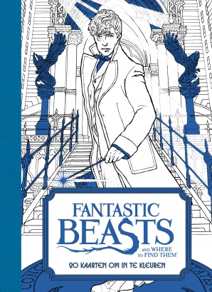 Fantastic beasts and where to find them: 20 kaarten om in te kleuren Paperback  door Bambi van der Knaap