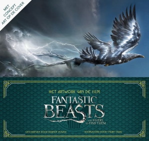 Het artwork van de film Fantastic beasts and where to find them Hardcover  door Dermot Power