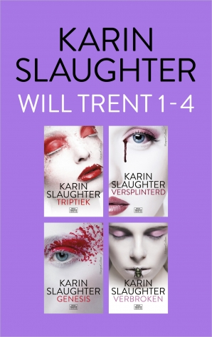 Will Trent 1 - 4 E-book  door Karin Slaughter