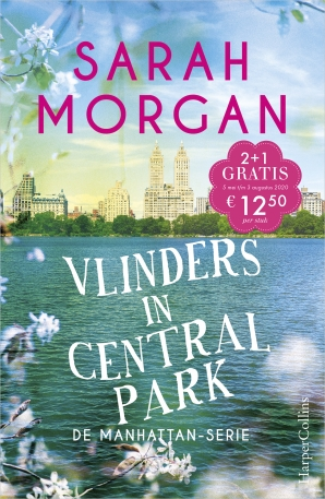 Vlinders in Central Park Paperback  door Sarah Morgan