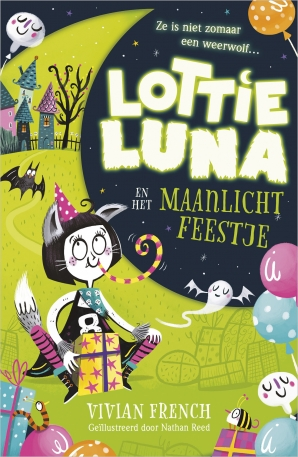 Lottie Luna en het maanlichtfeestje Hardcover  door Vivian French