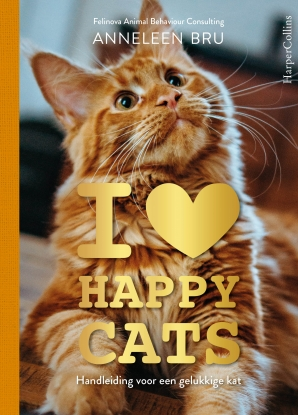 I Love Happy Cats Hardcover  door Anneleen Bru