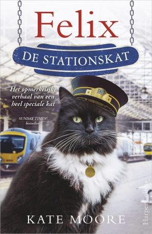 Felix de stationskat Paperback  door Kate Moore